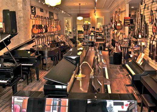 Pianovations Showroom